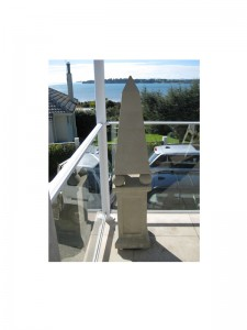Obelisk sculpture