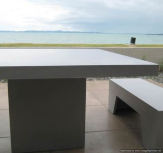 Sorrento Lightweight Concrete Table