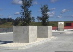 Choose Sanstone NZ for all your custom made concrete planters. We manufacture locally.